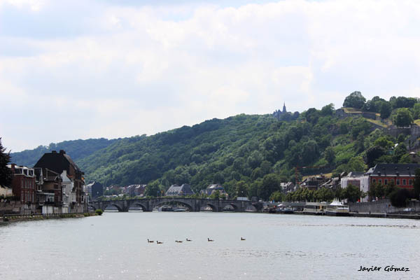 Cruise on the river Meuse, near Namur