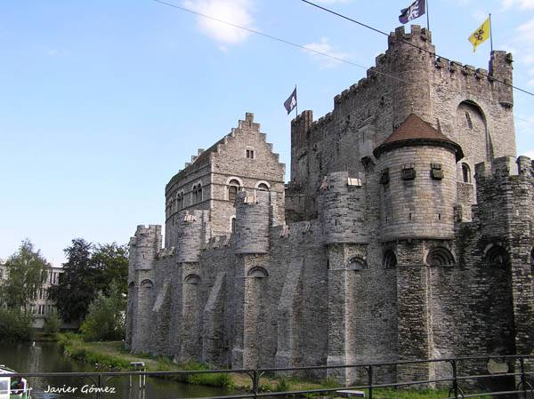 Castle of the Counts of Flanders Ghent