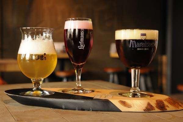 Duvel beer in Bruges