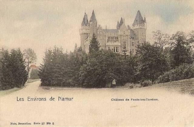 Faulk les Tombes castle old picture