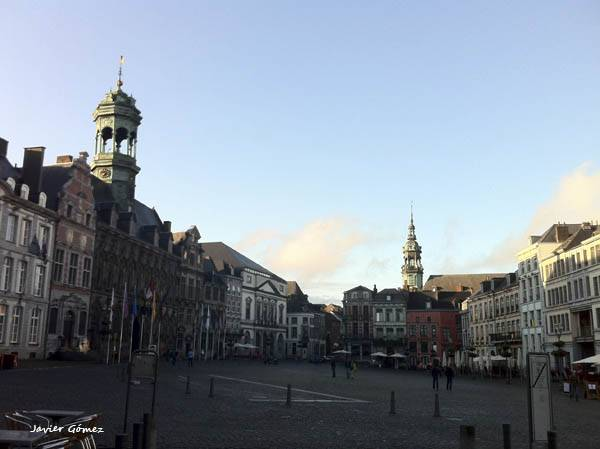 Grand Place in Mons