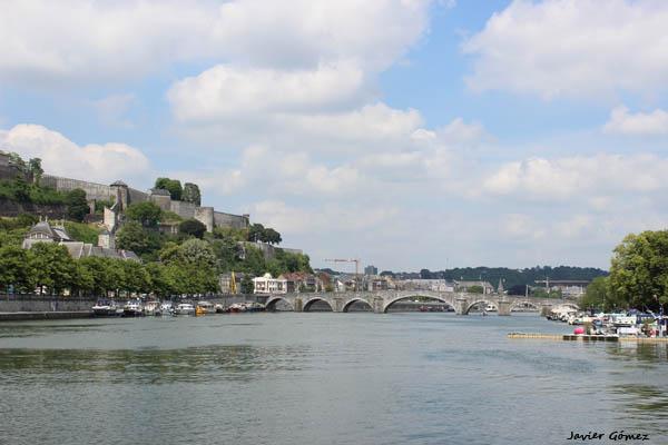 Pont de Jambes on Namur
